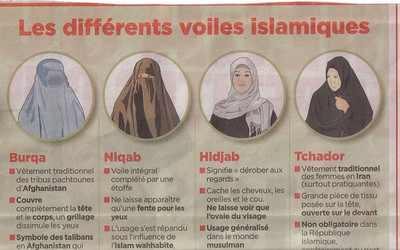 003a_The Different Islamic Vails