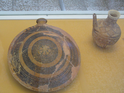 021_Tehran_Iran_Archaeological_Museum_Potery_Flask_Susa_2000_BC