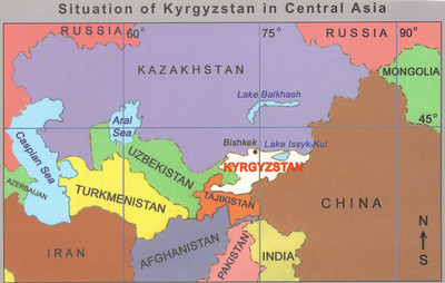 002_Kyrgyzstan in Central Asia