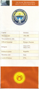 005_Kyrgyzstan, Basic information