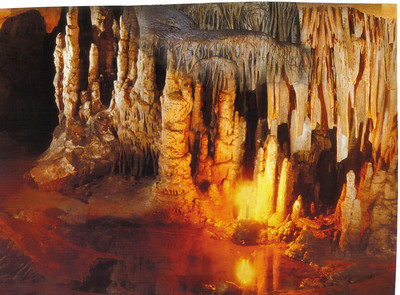 189_Osh Mountains Cave, Karst residues  Paleozoic Era (350 million BC)
