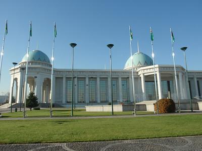 030_Ashgabat, Lavish marble palace
