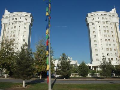 031_Ashgabat, Lavish marble appartment buildings