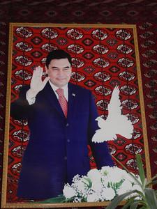 005_Turkmenistan President Gurbanguly Berdimuhammedov, 2006