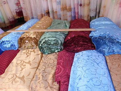 009_Tashauz (Dashogus) Bai Bazaar  Silk tissus