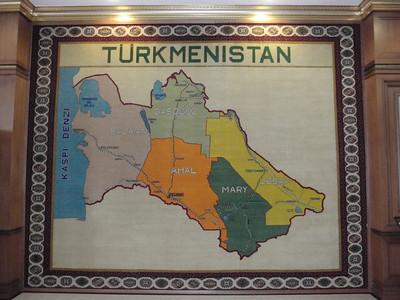 004_Turkmenistan  The 5 Regions