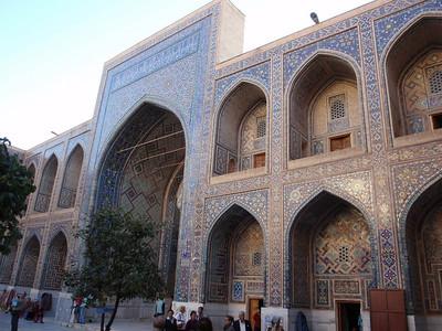 260_Samarkand, Registan Square, Ulugbek Madrassah, 1417-1420