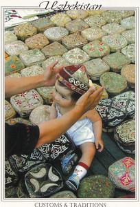 010_Customs and Traditions, Traditional Head -Dress, Tubeteyka
