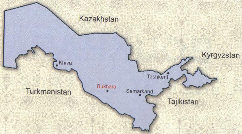 004_Khiva, Bukhara and Samarkand are UNESCO World Heritage Site