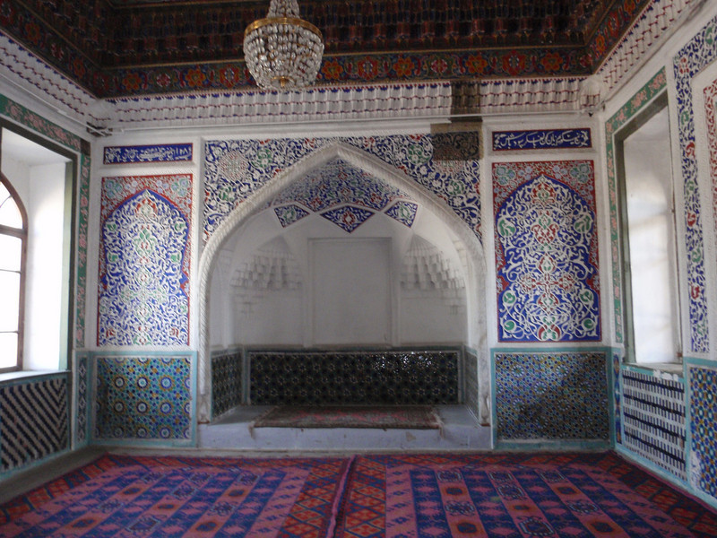 041_Kokand, Khudayarkhans Palace, XIX Century  The Throne Room