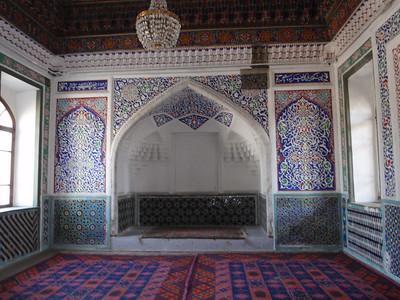041_Kokand, Khudayarkhans Palace, XIX Century  The Throne Room