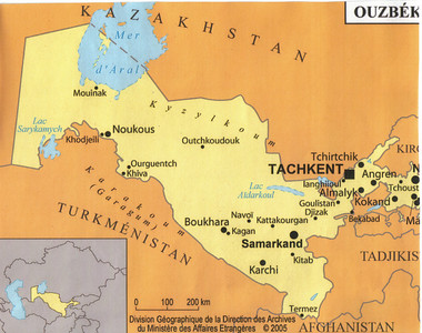 005_Uzbekistan is one of only 2 double-landlocked nations in the world