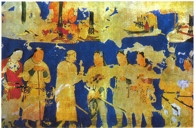 209_Afrasiab, Historical Museum of Samarkand  Wall Paintings