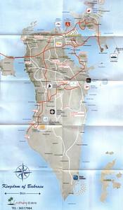 002_Kingdom of Bahrain  8 km Wide  706 sq  km