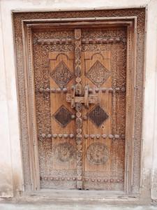 028_Beit Sheikh Isa bin Ali  Family Quarter  Decorated Door