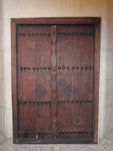 117_Traditional Trades and Crafts  Wood Carved Door