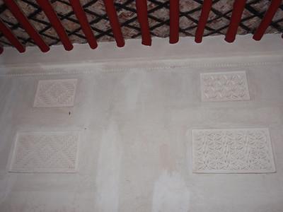 032_Beit Sheikh Isa bin Ali  Sheikh Quarter  Living Room  Stuc Ornament