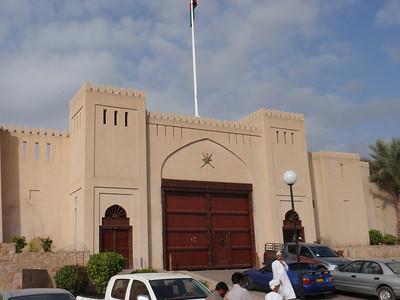 086_Nizwa Fort  Ancien Capital of Oman  Crenulated wall