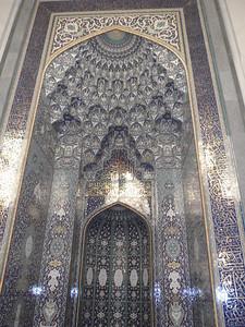 027_Grand Mosque  Main Prayer Hall  Mihrab  Beautifull