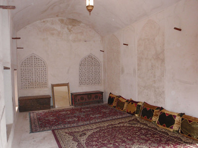 193_Jabrin Castle  2nd  Fl  Iman's Majlis,  Sun and Moon Room