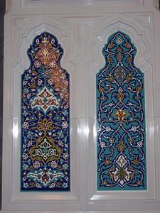 028_Muscat  The Grand Mosque  Main Prayer Hall  Ceramics