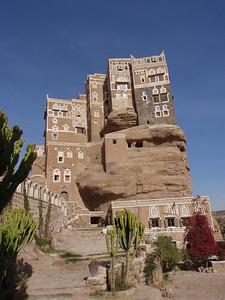 145_Palace of Dar al-Hajar  Summer Residence Imam Yahya  1920