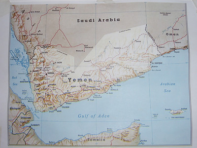 001_Yemen  At the Crossroads of 2 Continents  Size of France