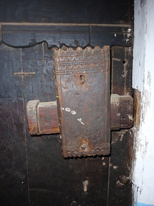 377_Al Hajjarha  House Interior  The Door Key Mechanism