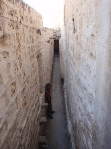 571_Queen Arwa's Madrassa  Side Steps to Student Cells