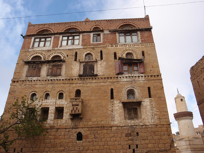 269_At-Tawila  Yemeni Tower Houses Made of Stone