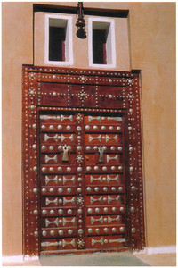 687_Shibam City in Wadi Hadramawt  Magnificent Decorative Door