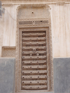 688_Shibam City in Wadi Hadramawt  Magnificent Decorative Door