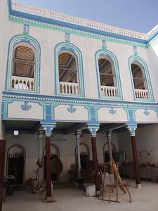 623_Umar Al Kaf Museum  Courtyard and Former Daily-Life Tools