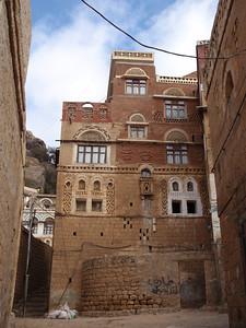 270_At-Tawila  Yemeni Tower Houses Made of Stone