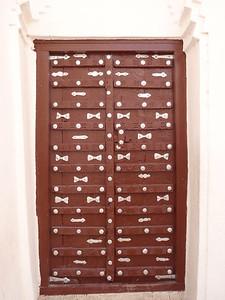 625_Tarim  The Al Muhdar Mosque  Traditional Ornated Door
