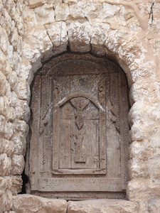 284_Al-Mahwit  An Old Carved Wooden Door