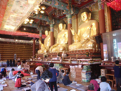 009_Seoul City  Jogye-sa Buddhist Temple  The Hall of the Great Hero (Daeung-jeon) jpg