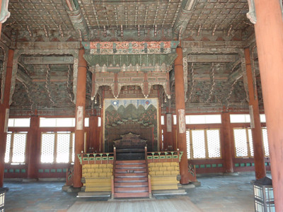 025_Seoul City  Deoksugung Palace  Junghwajeon  Main throne hall  Used for ceremonial occasions, coronations and receiving foreign envoys jpg