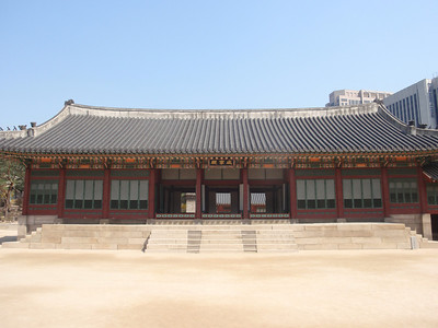 036_Seoul City  Deoksugung Palace  Hamnyeongjeon  Sleeping quarters of King Gojong 1864-1907 jpg