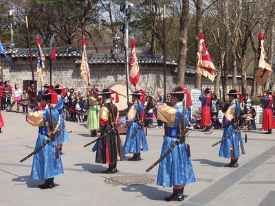 017_Seoul City  Deoksugung Palace  Changing Ceremony of the Royal Guards jpg