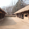 169_Korean Folk Village  Middle Class Farmer's House in the Southern Part  2 parallels houses  Spacious rooms and wooden floor jpg
