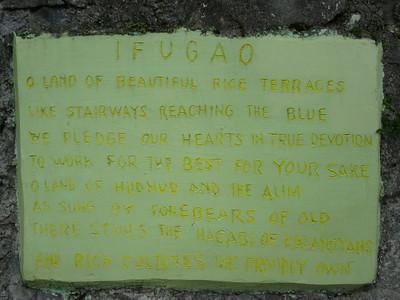 606_Banaue  The Ifugao Rice Terraces  The NFA-Aguian View Point
