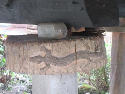 725_Bangaan Village and Rice Terraces  Ifugao Native House  Lizard, Long Life and Prosperity