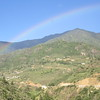 136_Between Paro Valley and Thimphu Valley  After the rain, a Rainbow
