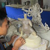 213_Thimphu Institute for Zorig Chusum  Sculpture II  Statue making (clay)