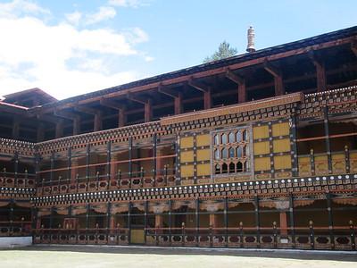 069_Paro  Rinpung Dzong (Monastery-Fortress)  17th Century