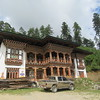 363_Phobjikha Valley  Gakiling Guest House  Traditional Bhutanese House