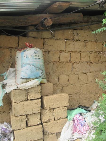 329_Wangdue Valley  Newari Village  Mud bricks