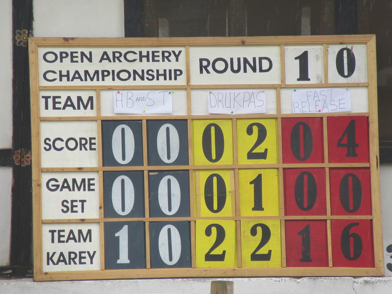 224_Bhutan national sport is datse (archery)  Since 1984, Bhutan archer's team, has participated in all Olympic Game
