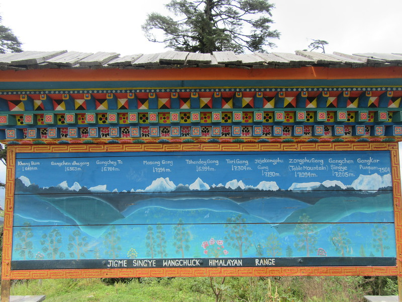 229_Docho La (Pass)  3,050m  A forest of pine and cedar with panoramic views of the Himalaya